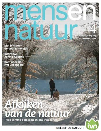 Cover Mens en Natuur winter 2015